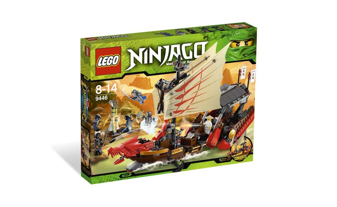 LEGO NINJAGO Летучий корабль (9446)