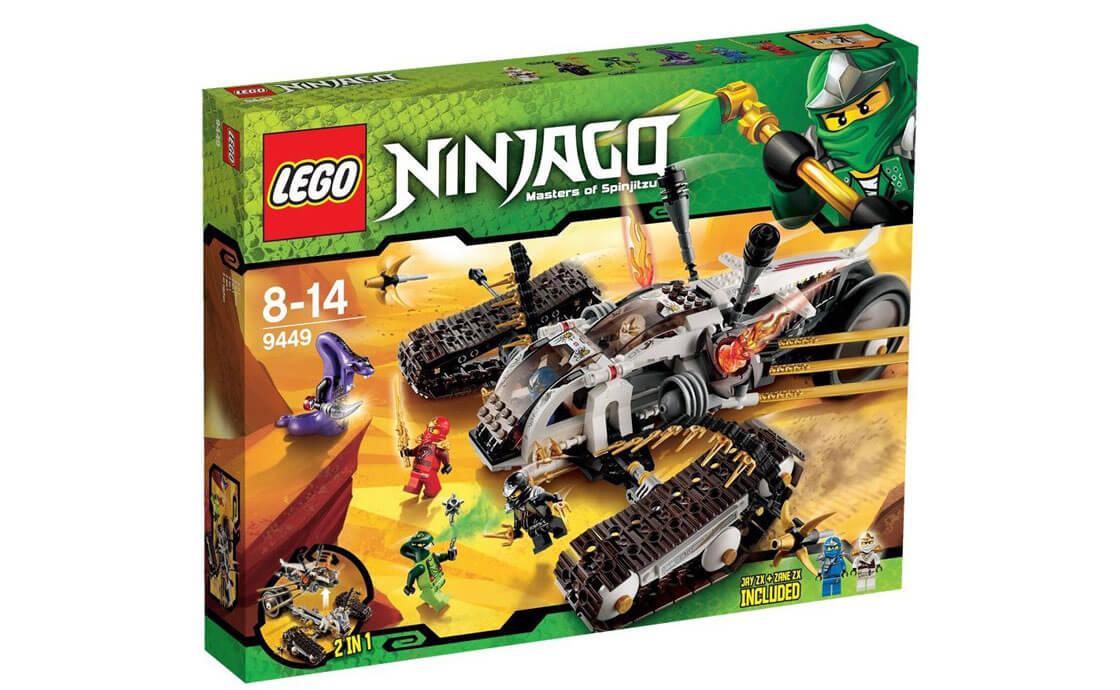 LEGO NINJAGO Сверхзвуковой рейдер (9449)