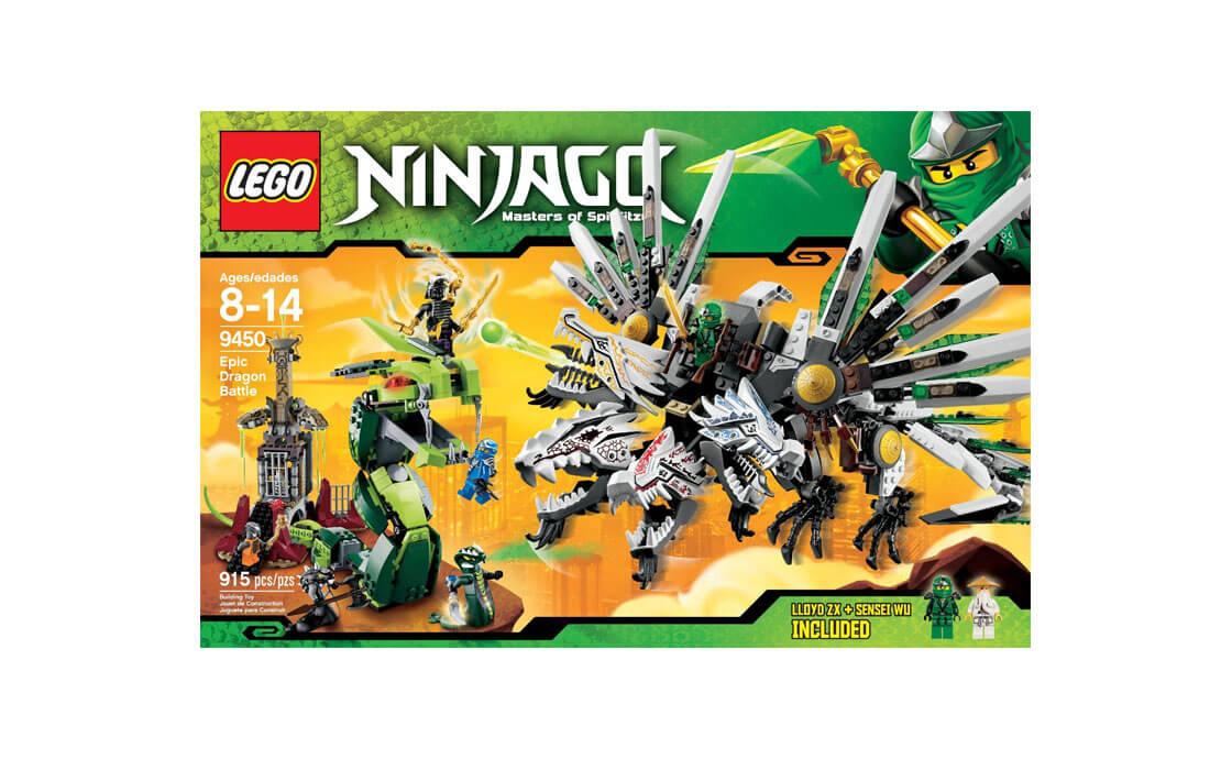 LEGO NINJAGO Битва драконов (9450)