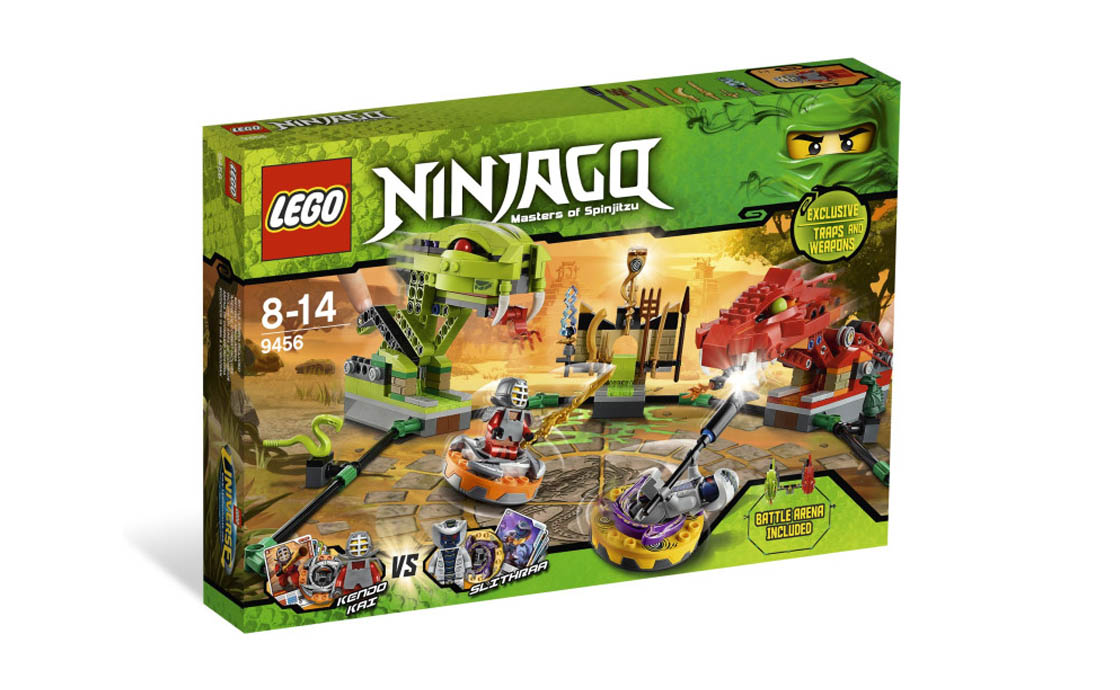 LEGO NINJAGO Сражение на спиннерах (9456)