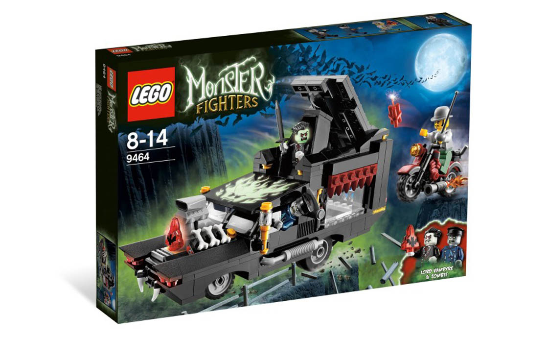 LEGO Monster Fighters Катафалк Вампира (9464)