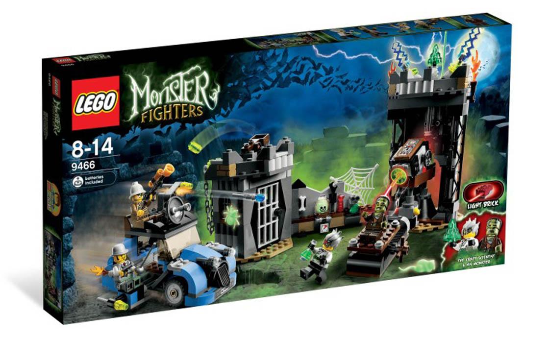 LEGO Monster Fighters Безумный профессор и его монстр (9466)