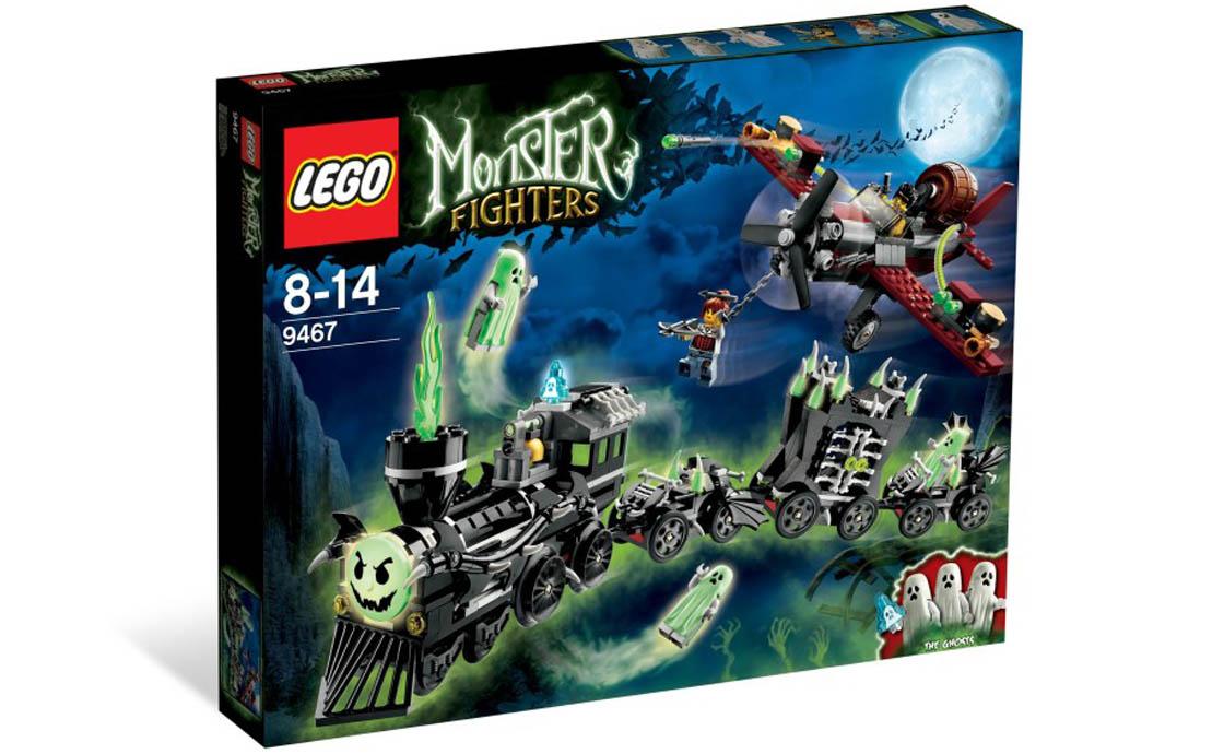LEGO Monster Fighters Поезд-Призрак (9467)