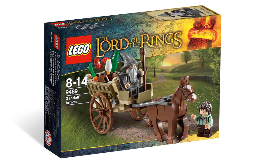 LEGO The Lord of the Rings Прибытие Гэндальфа (9469)