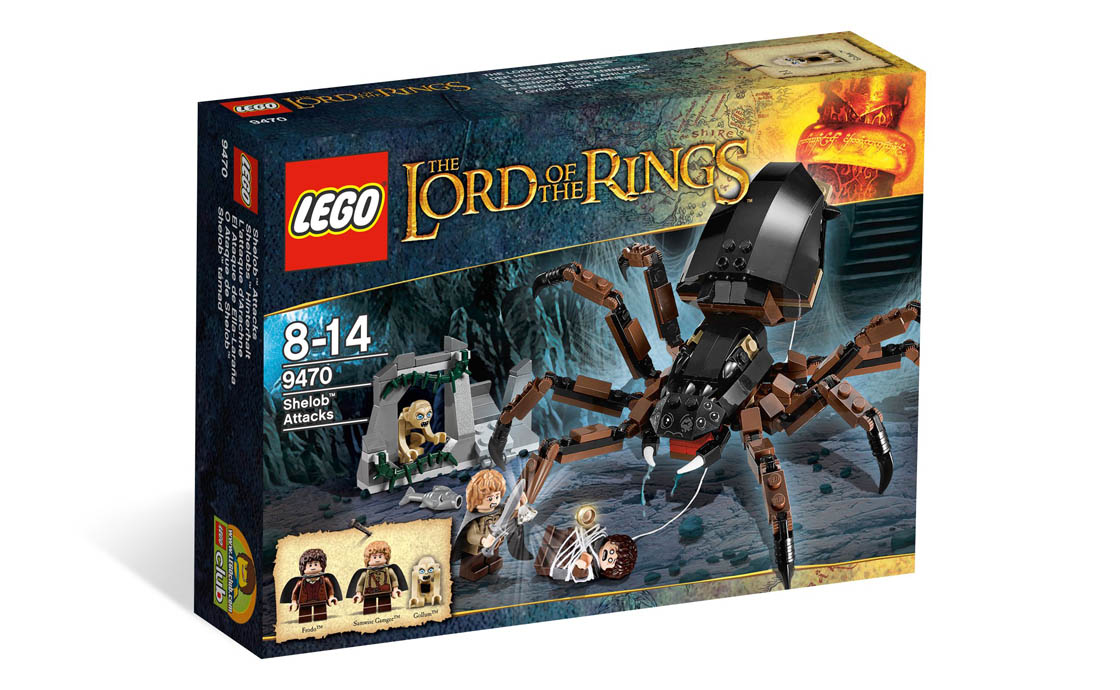LEGO The Lord of the Rings Нападение Шелоб (9470)