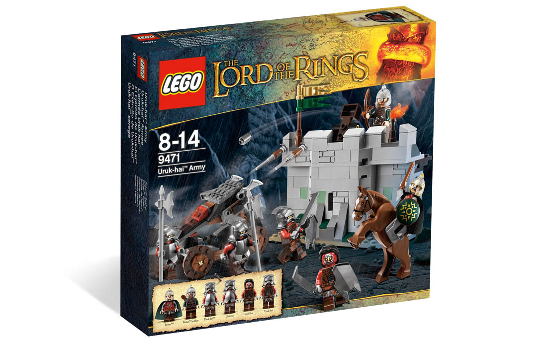 LEGO The Lord of the Rings Армия Урук-хай (9471)
