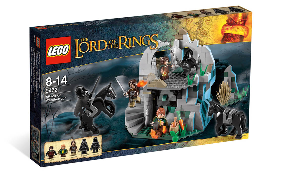 LEGO The Lord of the Rings Нападение на Везертоп (9472)
