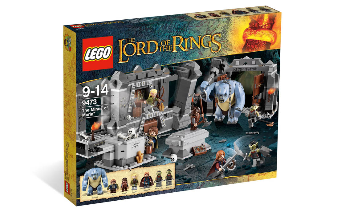 LEGO The Lord of the Rings Шахты Мории (9473)