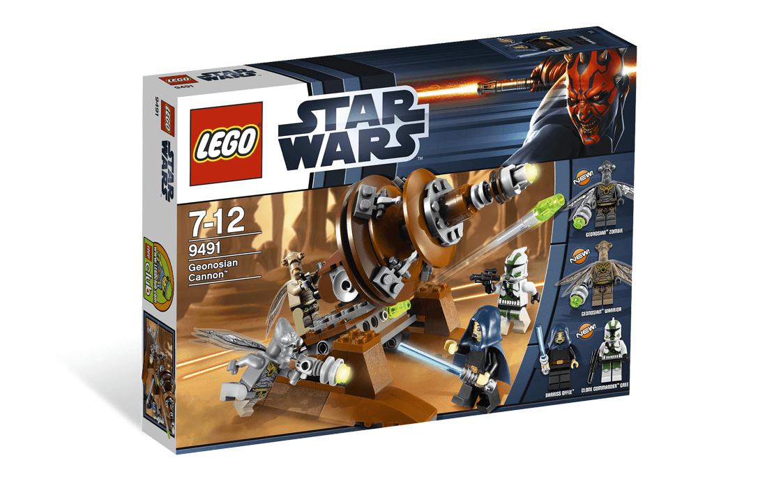 LEGO Star Wars Джеонозианская пушка (9491)
