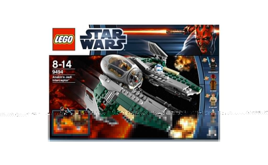 LEGO Star Wars Джедайский перехватчик Анакина (9494)