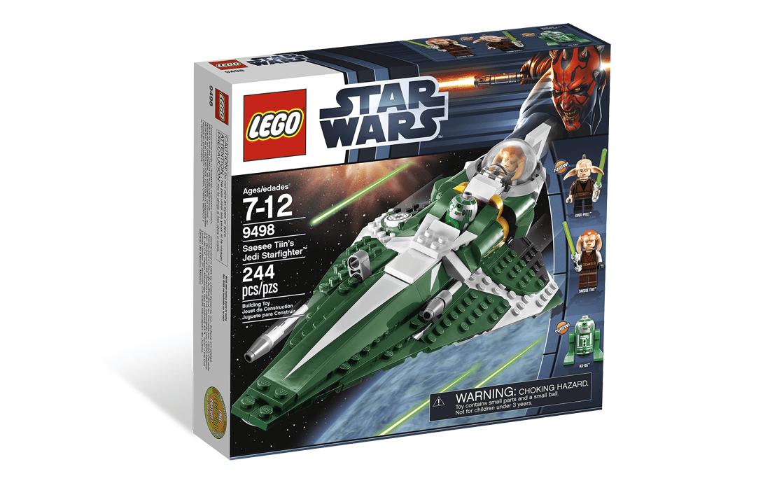LEGO Star Wars Джедайский истребитель Сэси Тийна (9498)