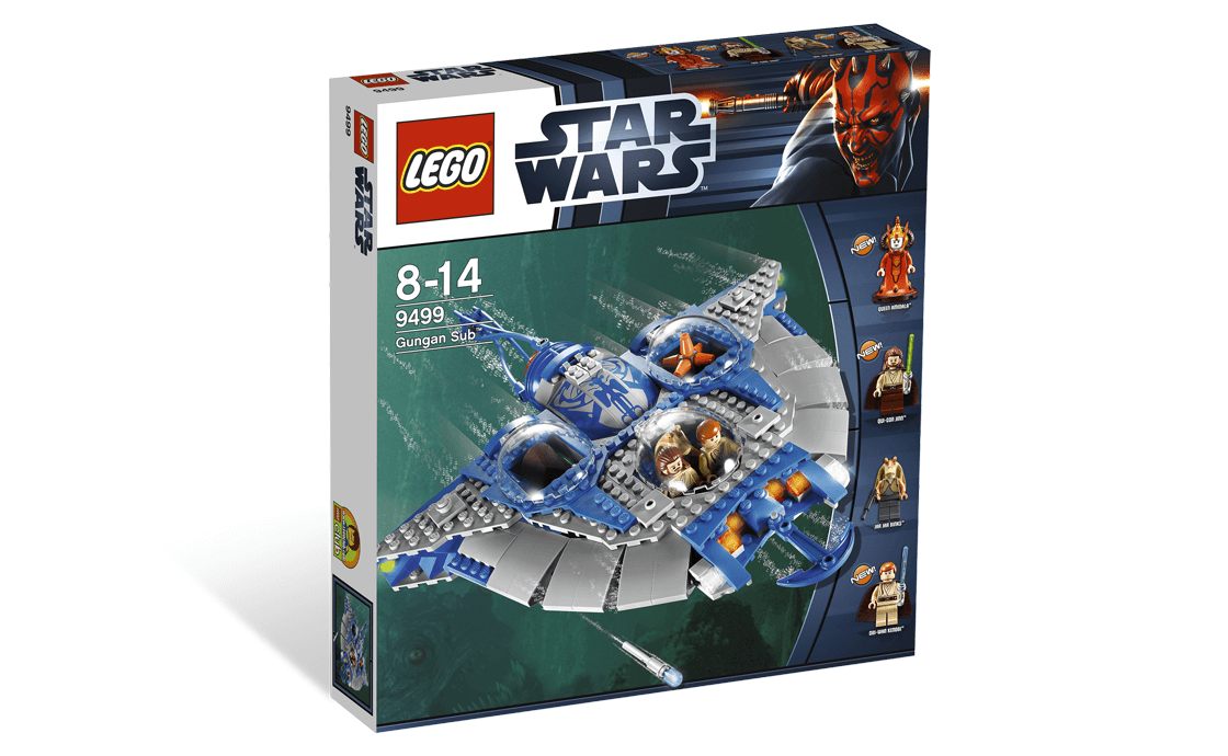 LEGO Star Wars Подлодка Гунганов (9499)