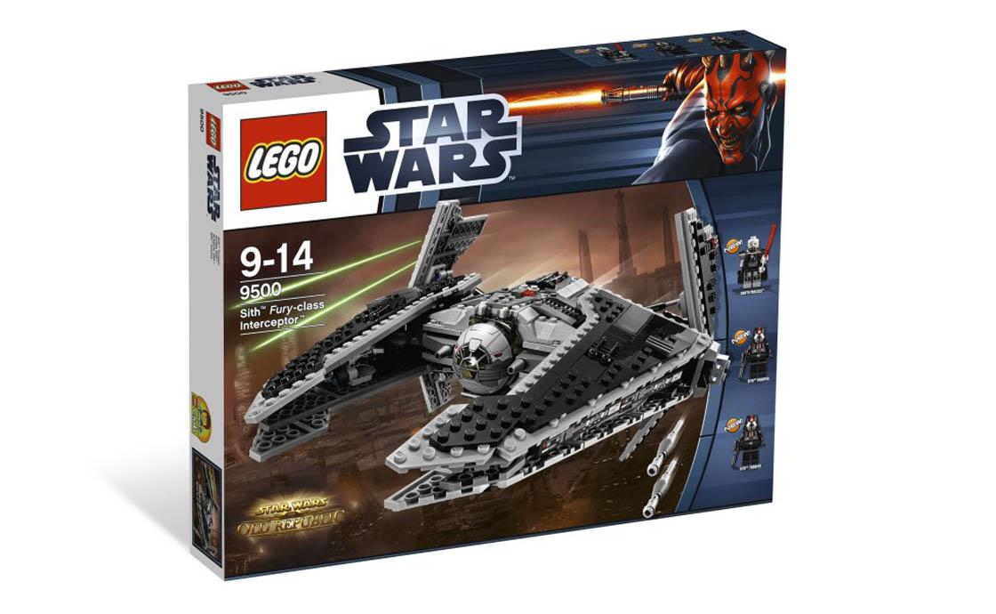 LEGO Star Wars Перехватчик класа Фурия (9500)