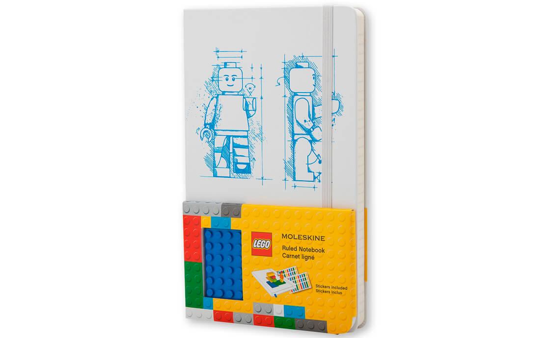 LEGO Accessories Блокнот Moleskine середнього розміру лінований (9788867326204)