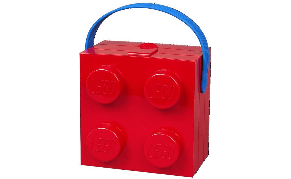 Раритет Ланч-бокс с ручкой, красный (40240001)