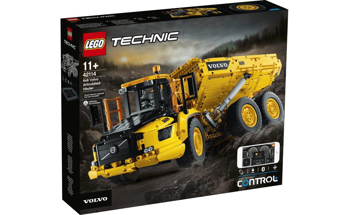 LEGO Technic Сочлененный самосвал 6x6 Volvo (42114)