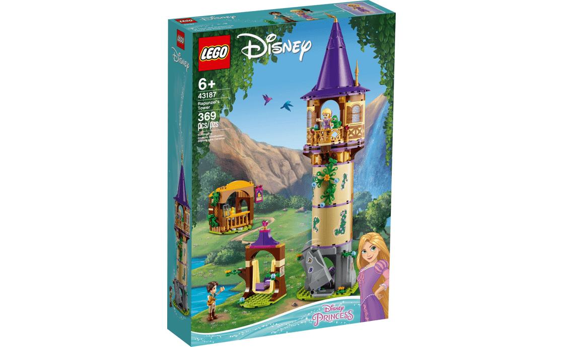 LEGO Disney Princess Башня Рапунцель (43187)