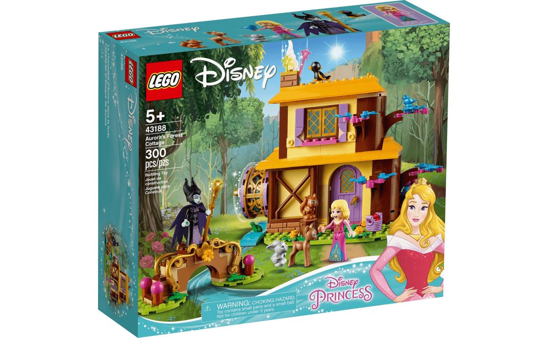 LEGO Disney Princess Лесной коттедж Авроры (43188)