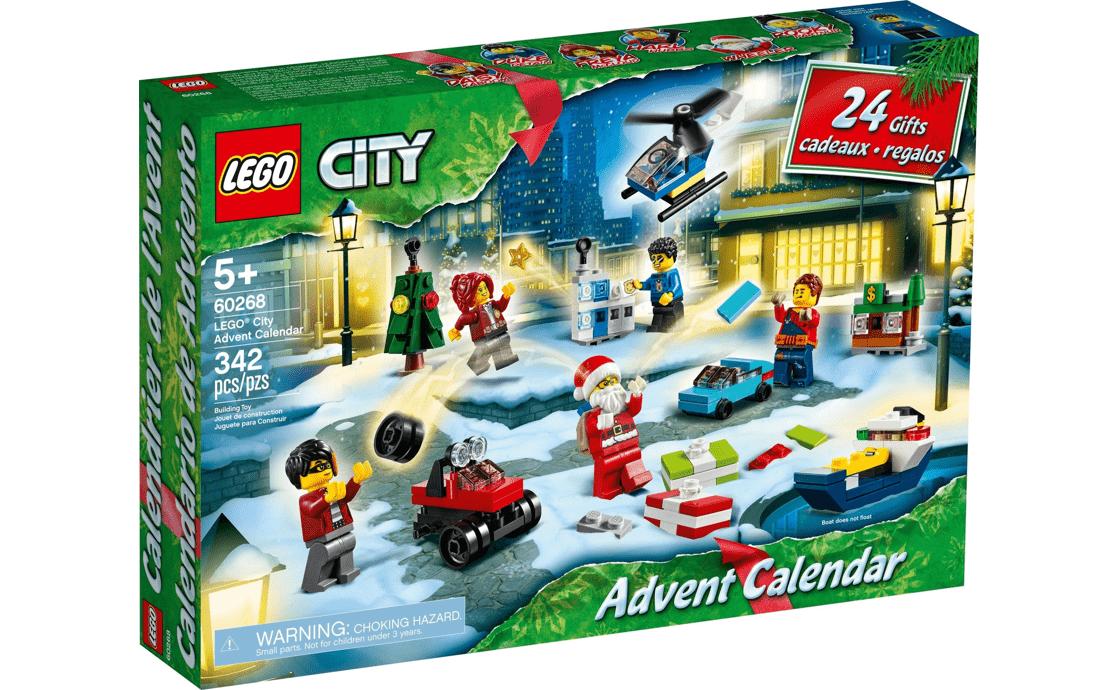 LEGO City Новогодний календарь (60268)