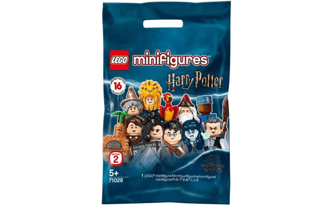 """LEGO Minifigures Серия """"Мир Магов"""" выпуск 2: запакованный пакетик (71028-18)"""