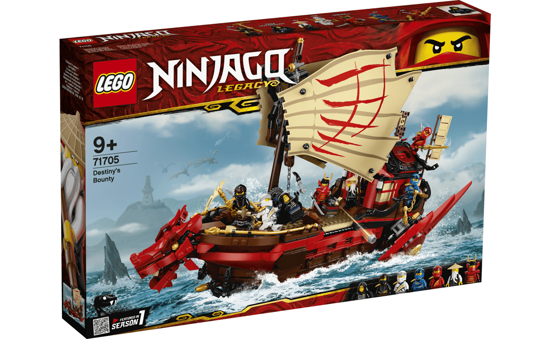 LEGO NINJAGO Подарок судьбы (71705)