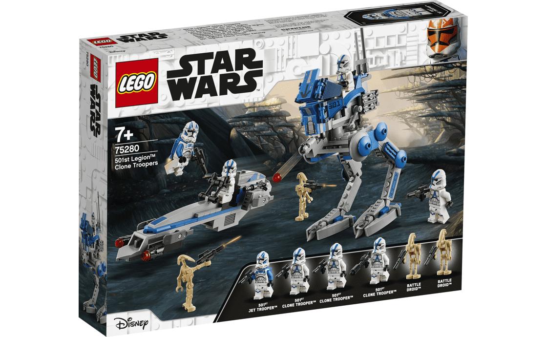 LEGO Star Wars 501-й легіон клонів легіону (75280)