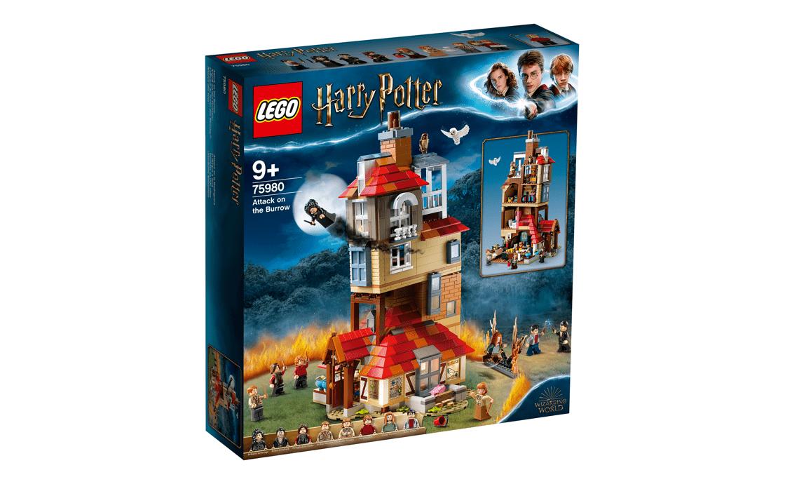 LEGO Harry Potter Нападение на Нору (75980)