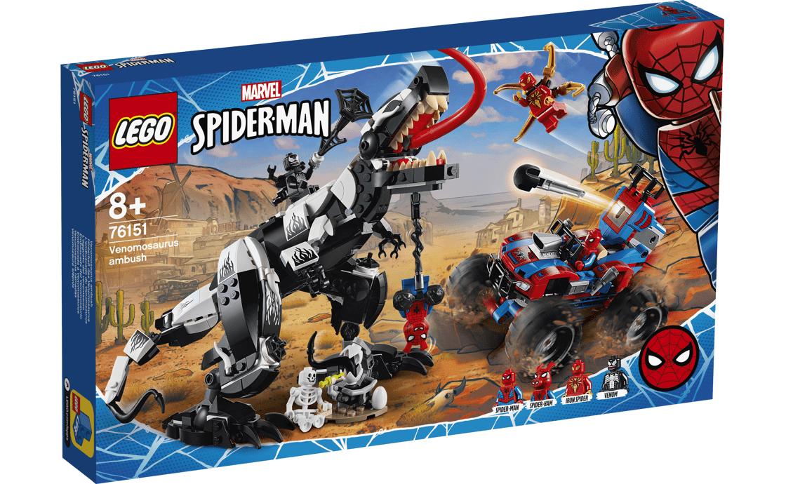 LEGO Super Heroes Веномозавр Засада (76151)