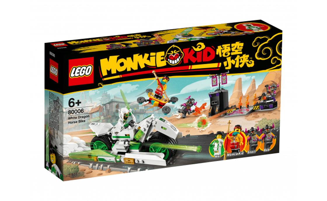 LEGO Monkie Kid Мотоцикл Белого Дракона (80006)