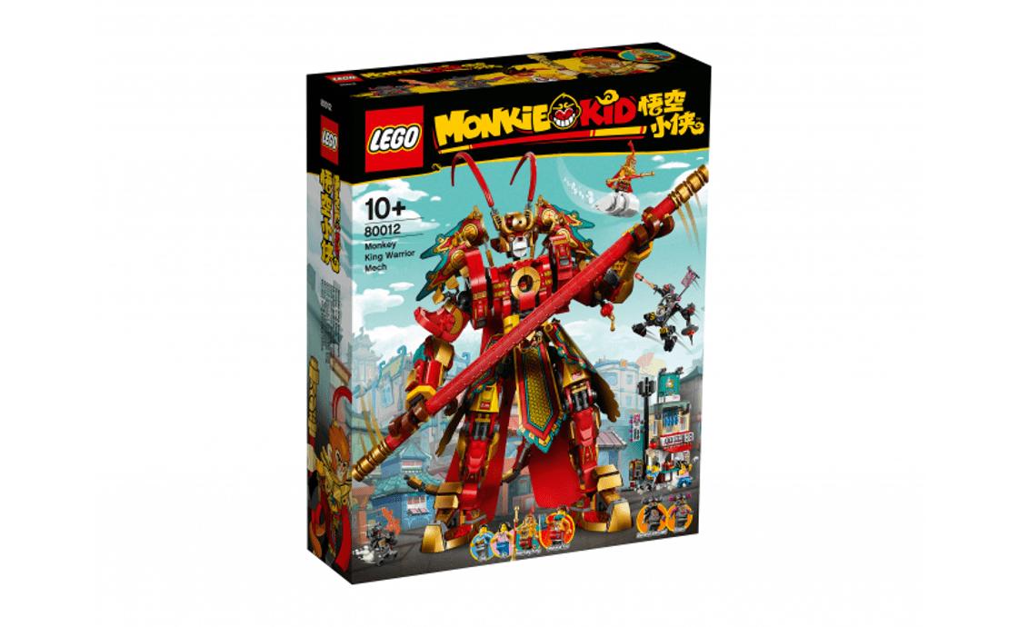 LEGO Monkie Kid Боевой робот Царя Обезьян (80012)