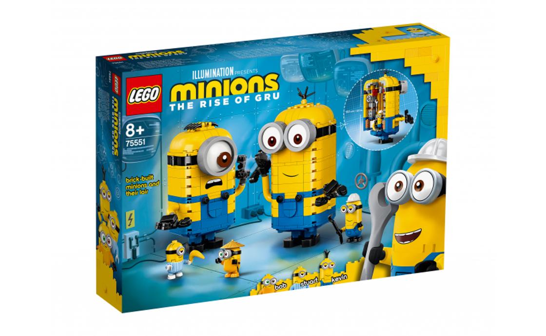 LEGO Minions: The Rise of Gru Миньоны и их дом (75551)