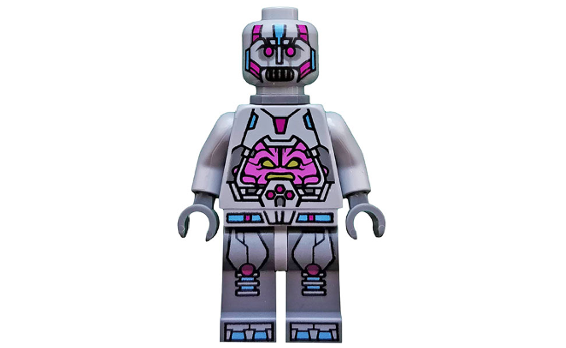 LEGO Ninja Turtles The Kraang - Gray Exo-Suit Body with Back Barb (tnt034)
