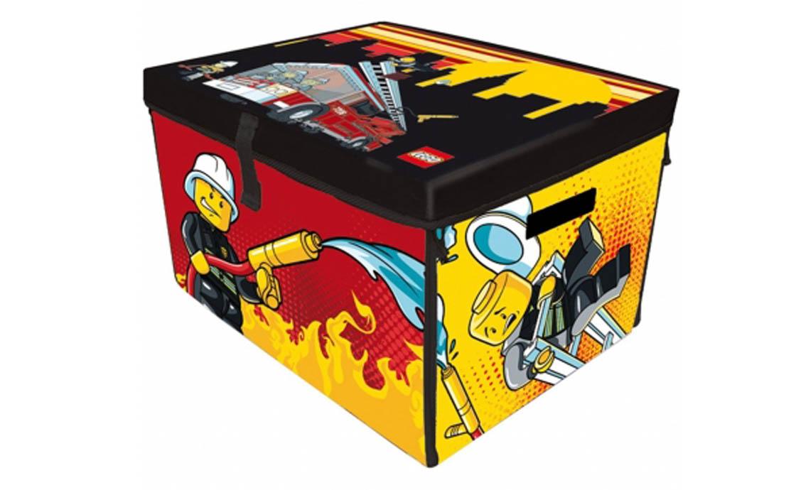 LEGO боксы Большое игровое поле-бокс Пожарные (A 1388 XX)