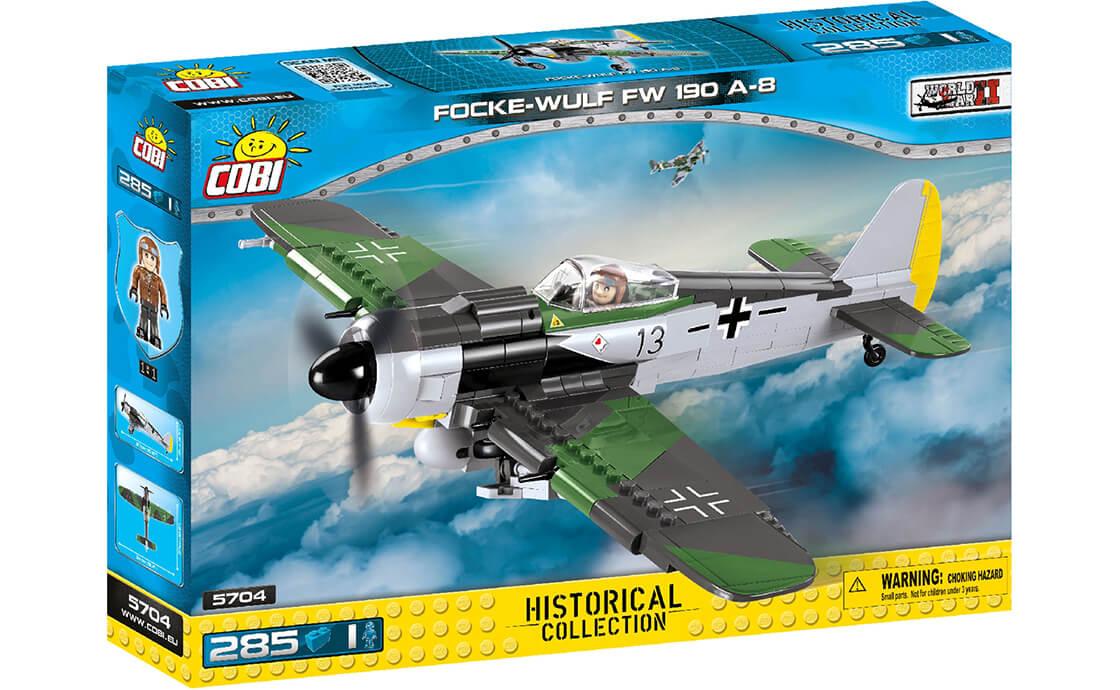 COBI Истребитель Фокке-Вульф FW-190 (COBI-5704)