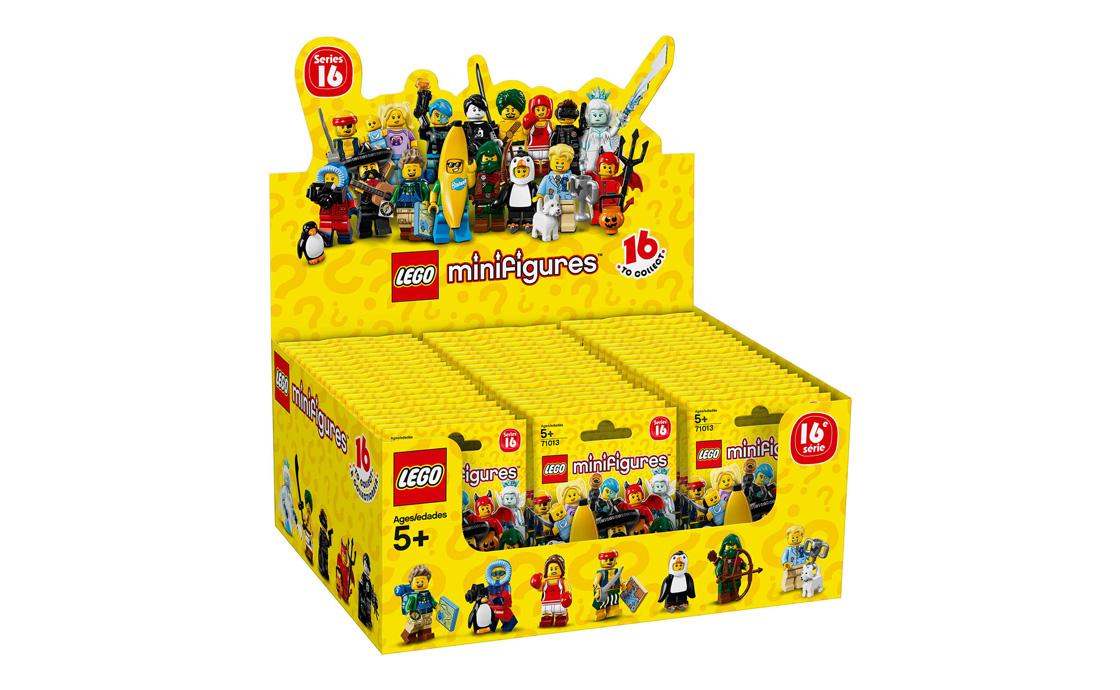 LEGO Minifigures Блок 60 штук (71013-19)