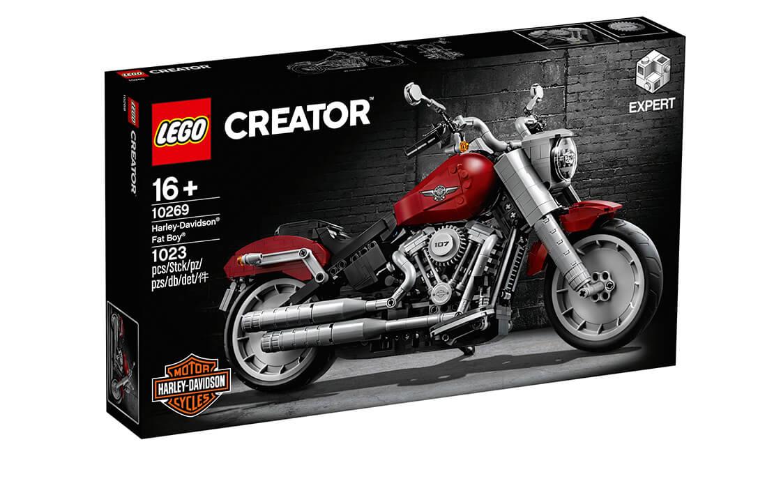 LEGO Creator Harley-Davidson Толстый мальчик (10269)