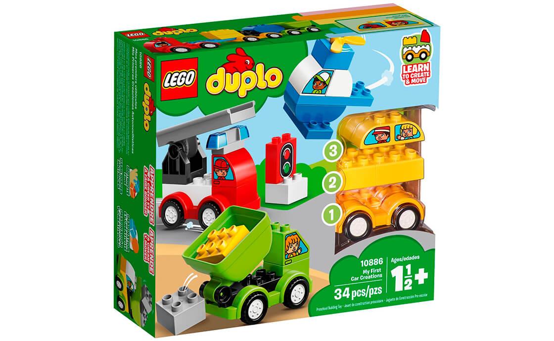 LEGO DUPLO Мої перші машинки (10886)