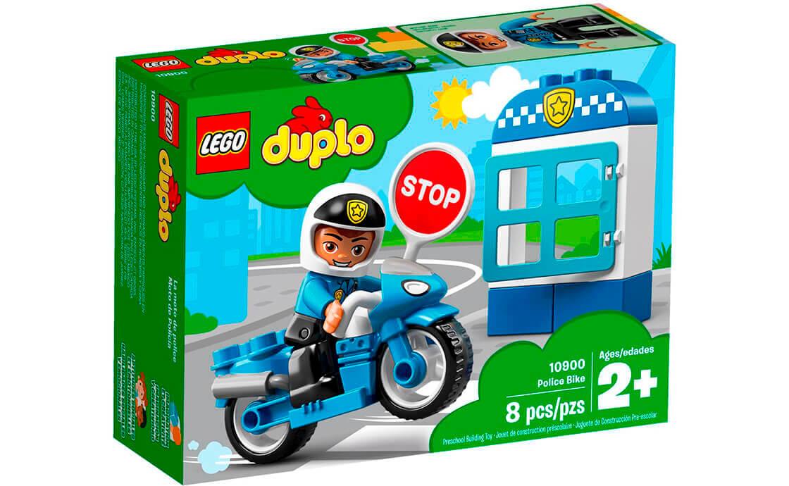 LEGO DUPLO Поліцейський мотоцикл (10900)