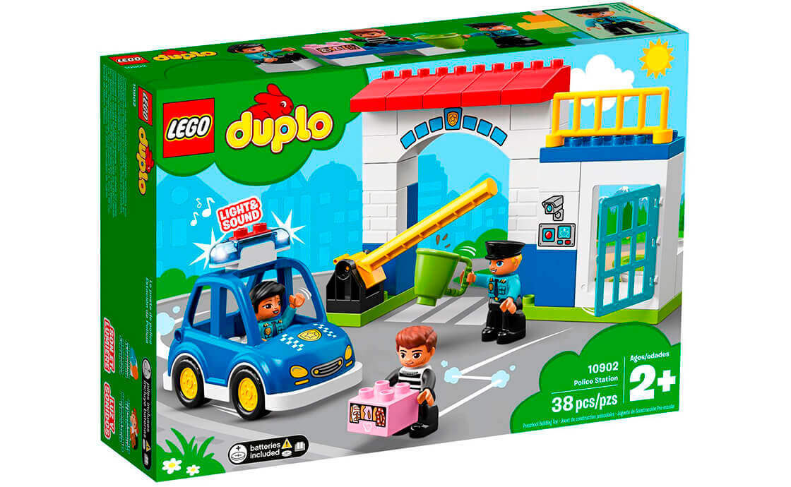 LEGO DUPLO Поліцейський відділок (10902)