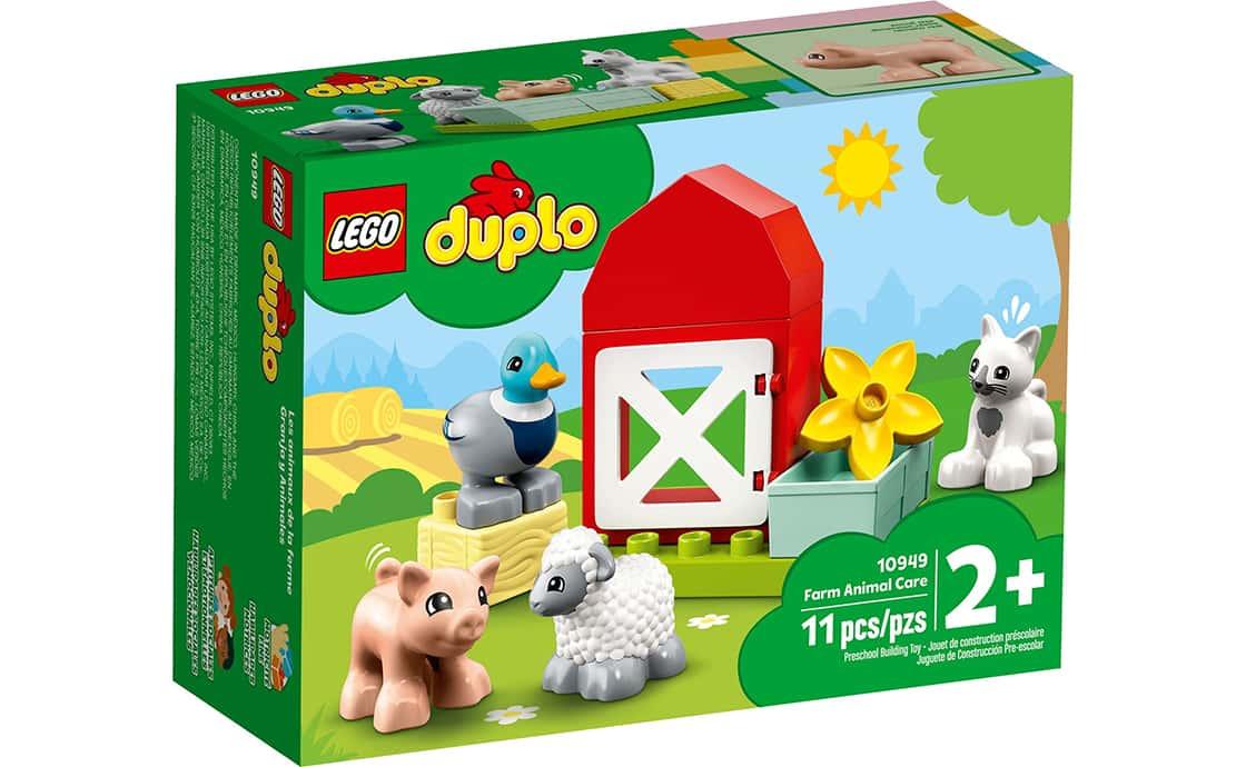 LEGO DUPLO Уход за животными на ферме (10949)