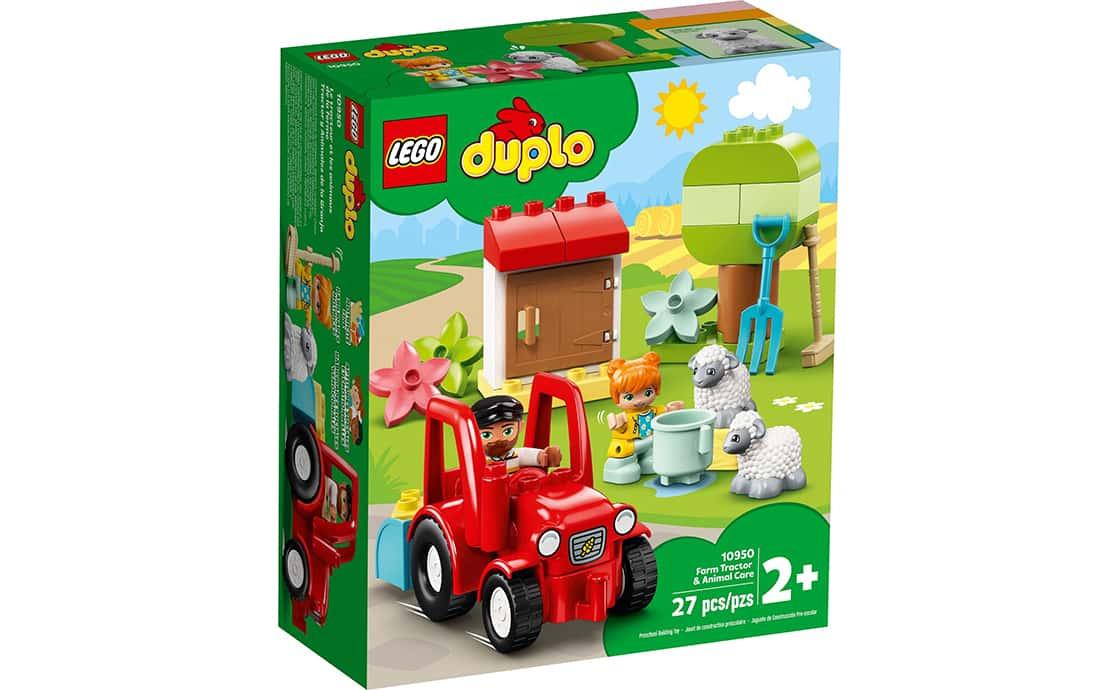 LEGO DUPLO Сельскохозяйственный трактор и уход за животными (10950)