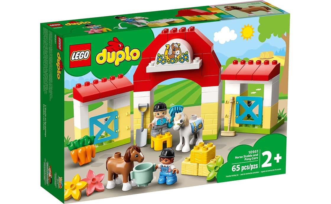 LEGO DUPLO Стайня і догляд за поні (10951)