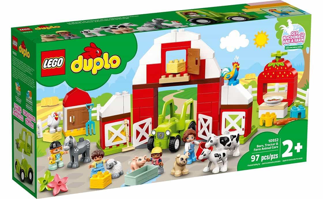 LEGO DUPLO Хлев, трактор и уход за животными (10952)