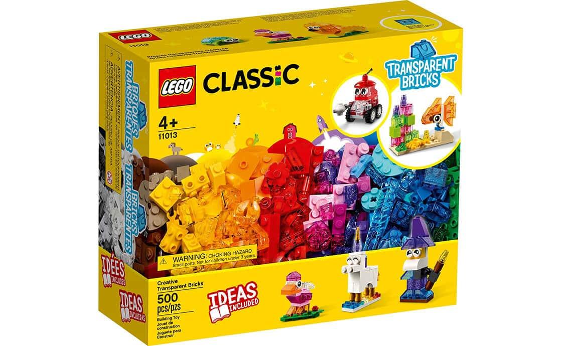 LEGO Classic Прозрачные кубики для творчества (11013)