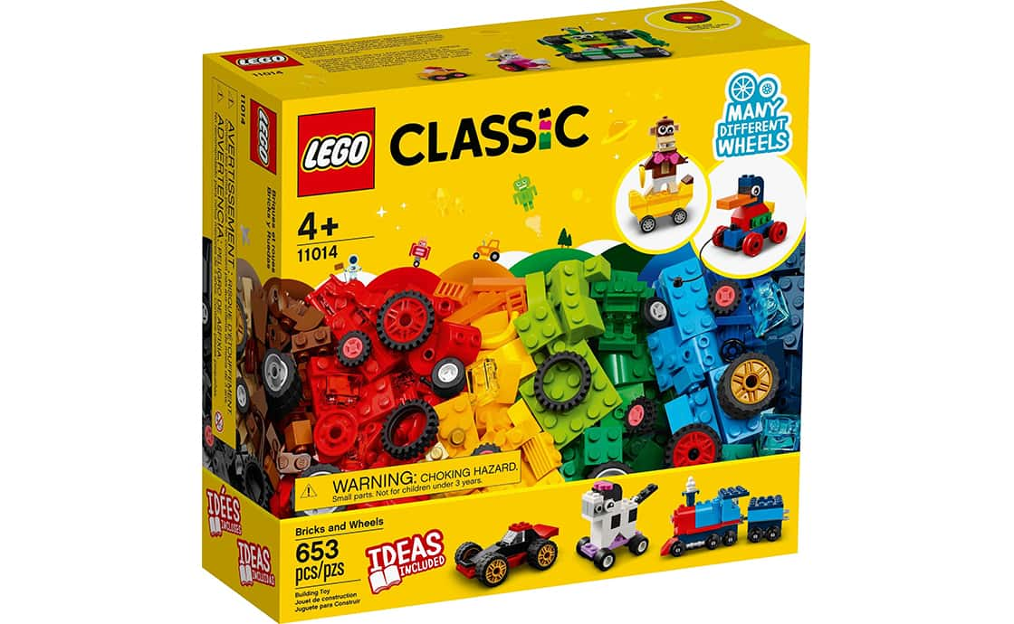 LEGO Classic Кубики и колеса (11014)