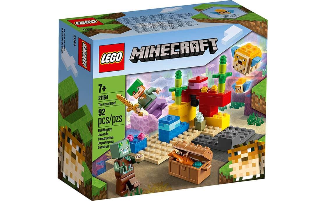 LEGO Minecraft Кораловий риф (21164)