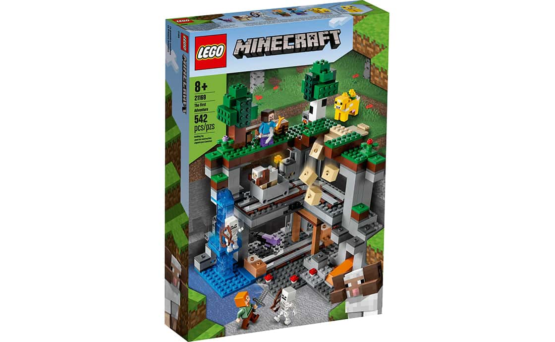 LEGO Minecraft Перша пригода (21169)