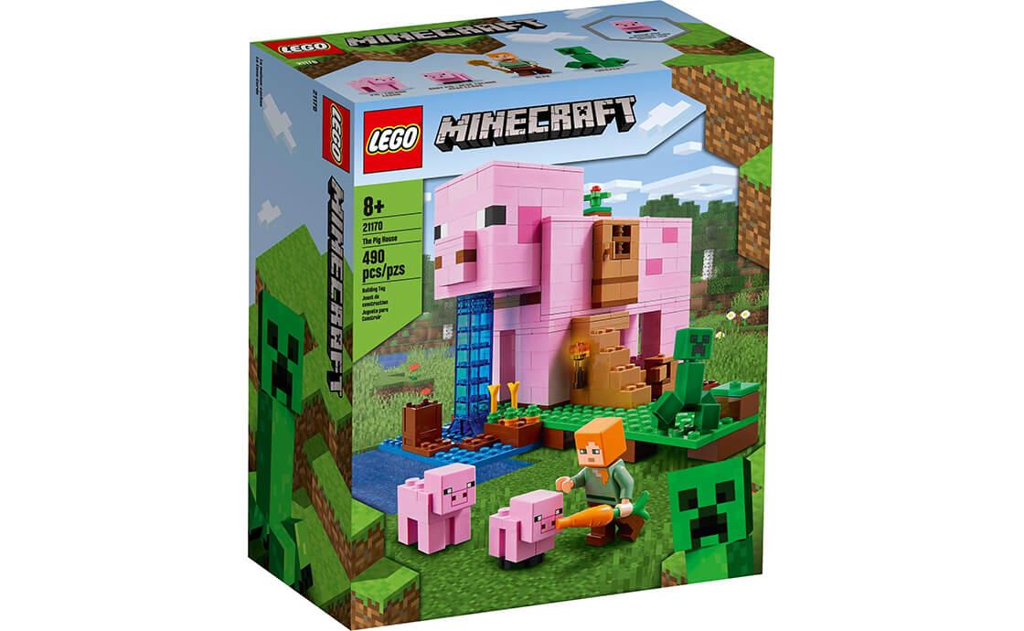 LEGO Minecraft Будинок-порося (21170)