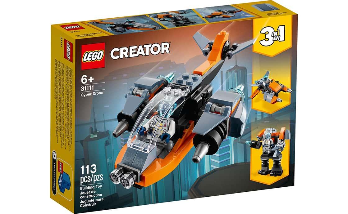 LEGO Creator Кібердрон (31111)