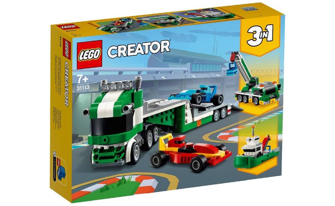 LEGO Creator Транспортер гоночных автомобилей (31113)